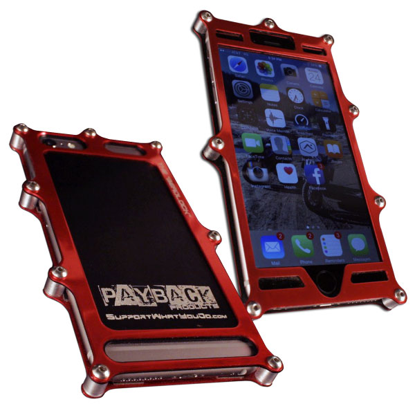 Beadlock Billet iPhone 6 Plus Case Red