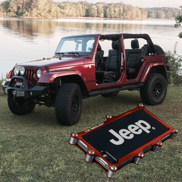 iShock Beadlock iPhone Case Jeep 4 Door Red
