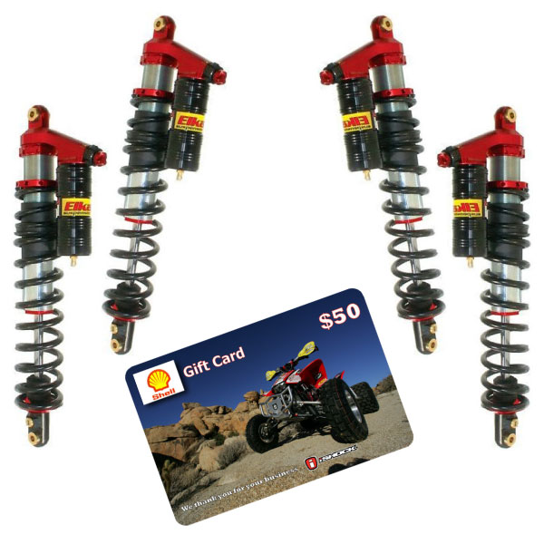 Elka UTV Stage 4 shocks SALE iShock