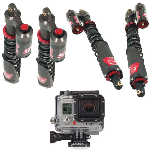 Elka ATV Stage 5 Shocks with a FREE GoPro