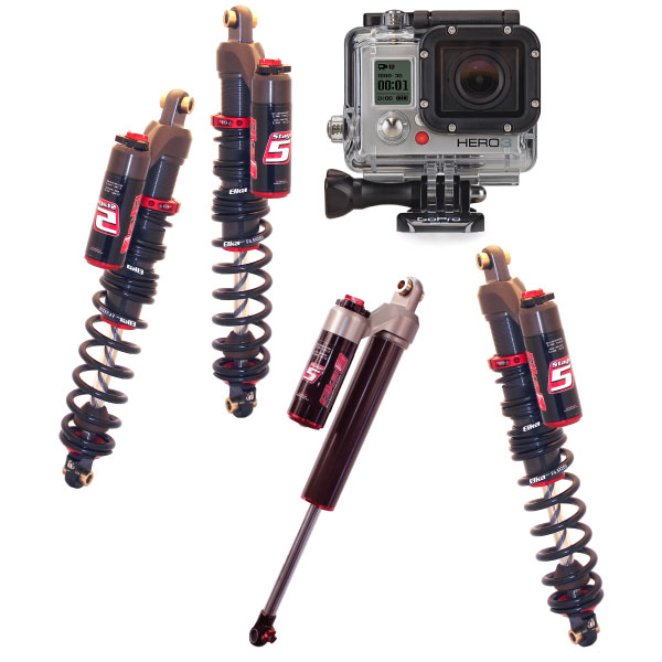 Elka Stage 5 Snowmobile Shock GoPro Package Deal iShock