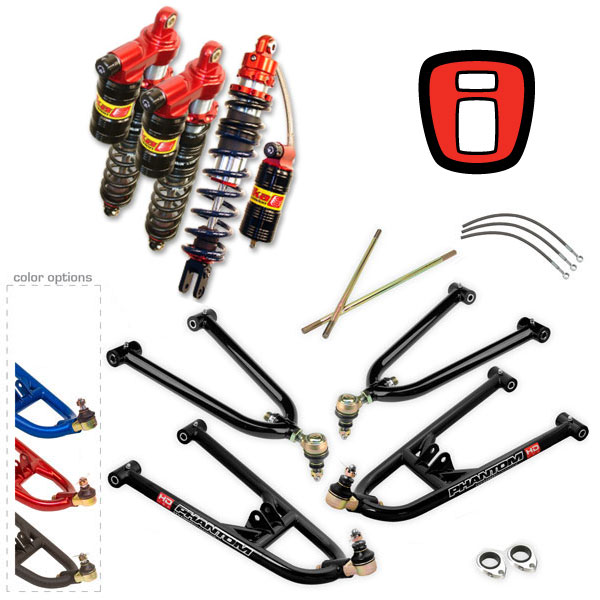 iShock Elka ATV Suspension Package