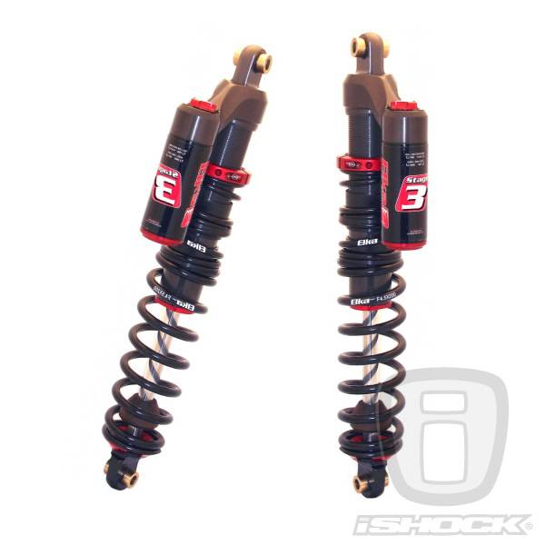 Elka - Elka ATV Stage 3 Reservoir Front or Rear Shocks (PAIR) - ALL NEW!