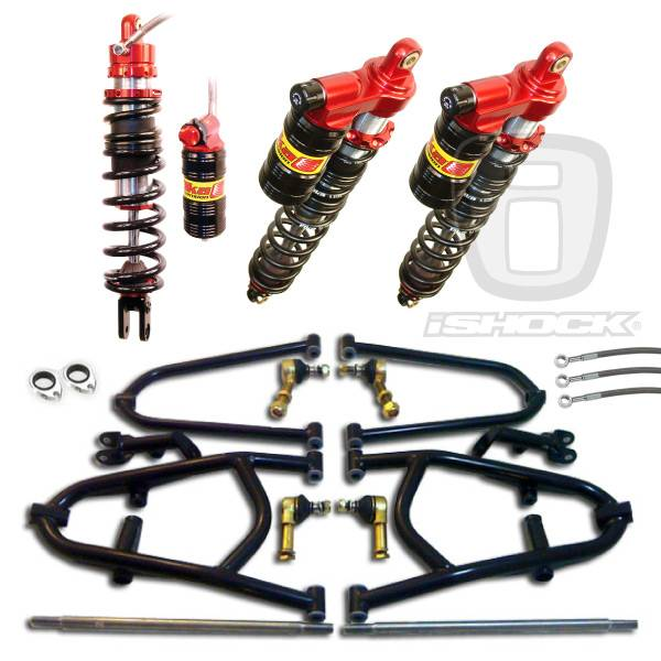 "Alba Racing  - Alba ATV i6500 Elka ""Legacy"" Series Front and Rear Long Travel Suspension System"