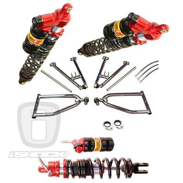 "LSR - Elka / LSR ATV i6500 ""Legacy"" Series Front and Rear Shocks Standard Travel System"