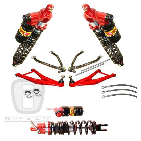 "LSR - Elka / LSR ATV i6500 ""Legacy"" Shock DC-PRO Long Travel Complete Suspension System.  SALE!"