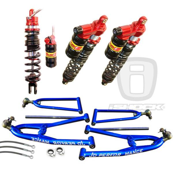 JD Performance - JD Performance / Elka ATV Legacy Shock i6500 Standard Travel Front and Rear Suspension Systems