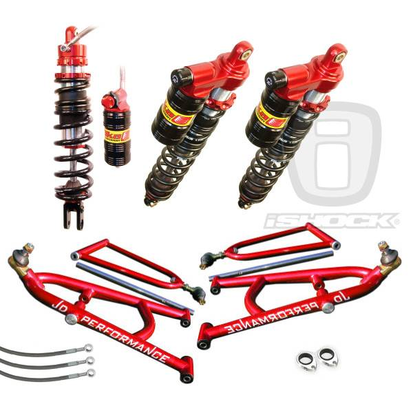 JD Performance - JD Performance / Elka Legacy Shocks ATV i6500 Front and Rear Long Travel Systems. HUGE DISCOUNT!