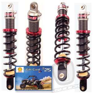 Elka - Elka UTV Stage 1 Shocks - 4 Pack Special!