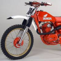 Motorcycle - Off Road - Vintage